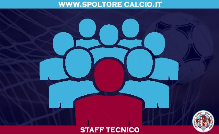 STAFF TECNICO SPOLTORE CALCIO