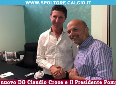 L'Avvocato Claudio Croce nuovo direttore generale dello Spoltore Calcio