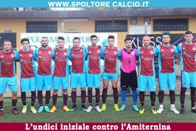 COPPA ITALIA | Lo Spoltore sbatte sull'Amiternina: finisce 1-1 all'Adriano Caprarese