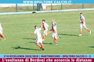 PRIMA SQUADRA | Nuova rimonta da 2-0 a 2-2. In gol Bordoni e Di Camillo